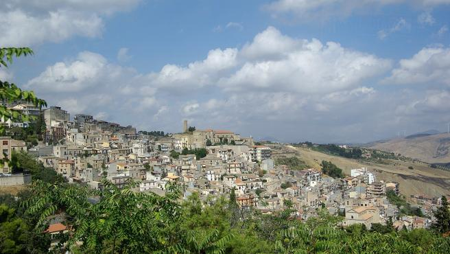 Imagen de la localidad siciliana de Cammarata.