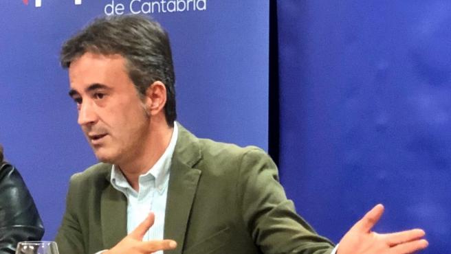 Diego Movellán, candidato del PP cántabro al Congreso de los Diputados
