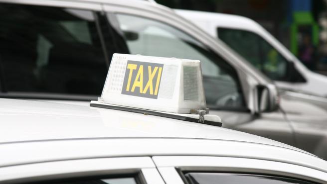 Imagen de archivo de taxi