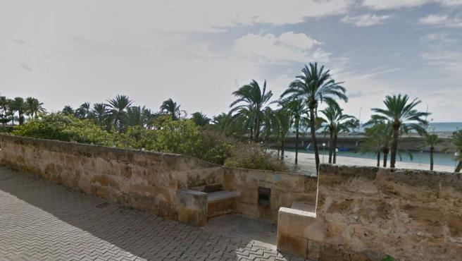 Imagen del Parc de la Mar, en Ibiza.