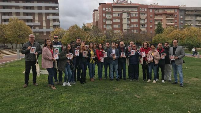 Reparto electoral del PSOE en Jaén capital