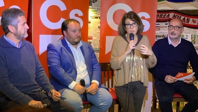 Soraya Rodríguez, Rubén Gómez y Javier Ceruti