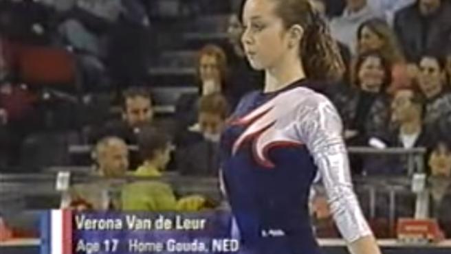 Verona van de Leur, en un campeonato en 2002