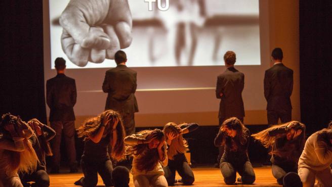 ACTO CONTRA LA VIOLENCIA DE GÉNERO (ARCHIVO)