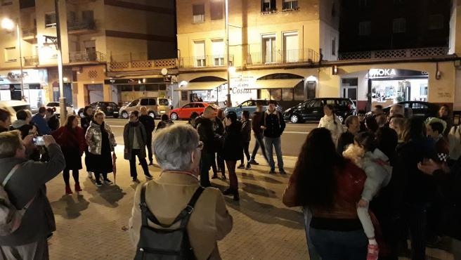 Concentración en Logroño contra la sentencia de la 'manada' de Manresa