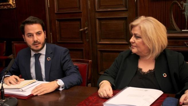 Eder García y Ana Lima repasan los programas de Servicios Sociales en el medio rural.