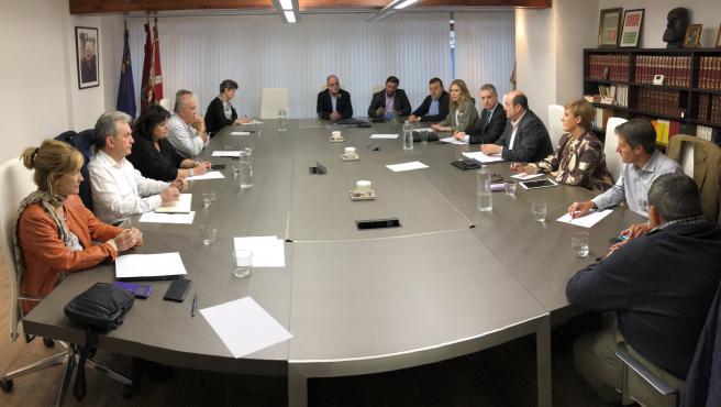 El EBB del PNV en una reunión anterior