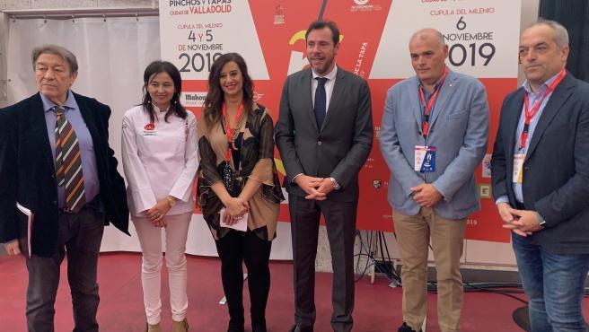 Inauguración del Concurso Nacional y Mundial de Pinchos y Tapas Ciudad de Valladolid.
