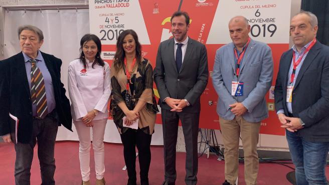 Inauguración del XV Concurso Nacional de Pinchos Ciudad de Valladolid.
