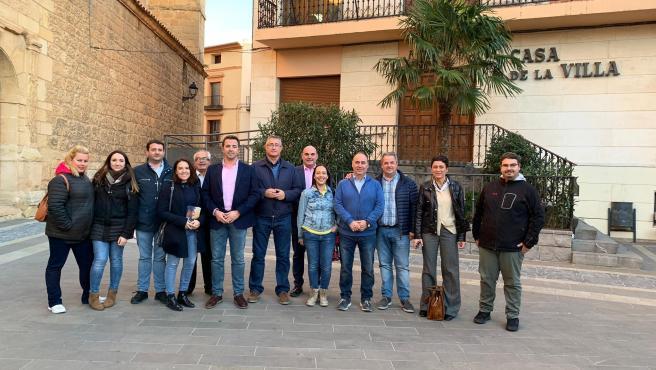 Jornada electoral del PP en Teruel.