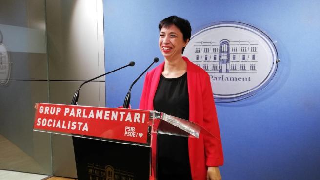 La portavoz del Grupo Parlamentario Socialista, Sílvia Cano