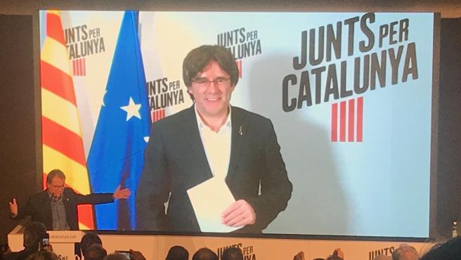 Los exptes. C.Puigdemont y A.Mas