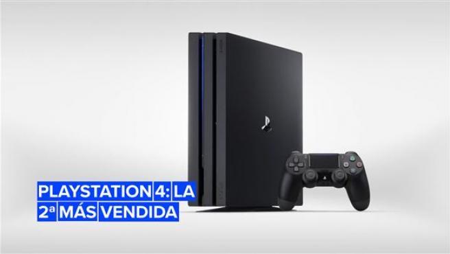 PlayStation 4 es la segunda consola más vendida