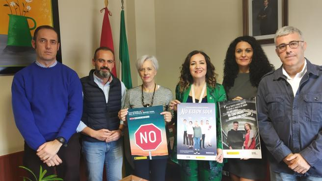 Presentación al Juzgado de Violencia de Género de las campañas impulsadas desde el Gobierno de España