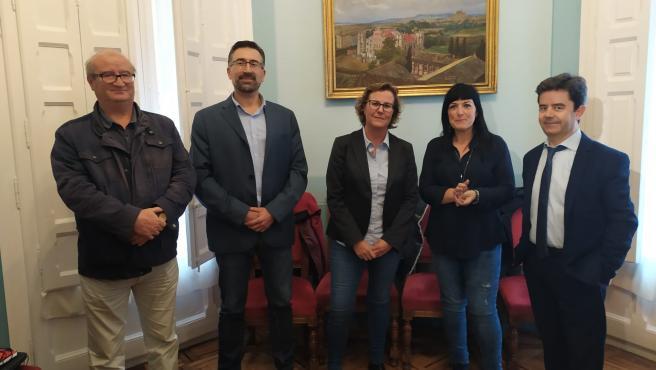 Presentación de la nueva intendente de la Policía Local de Huesca.