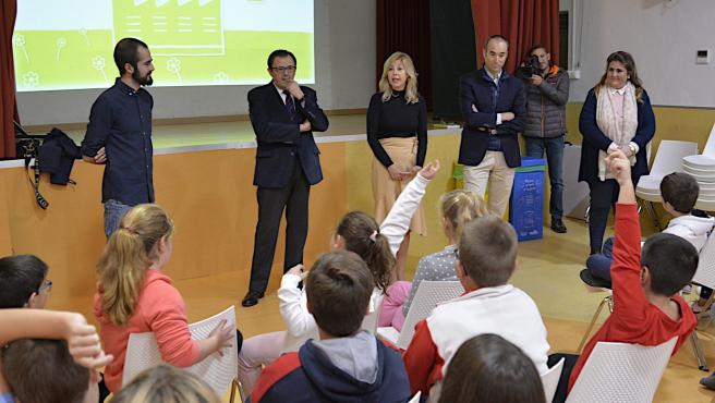 Programa educativo medioambiental en Escolapios