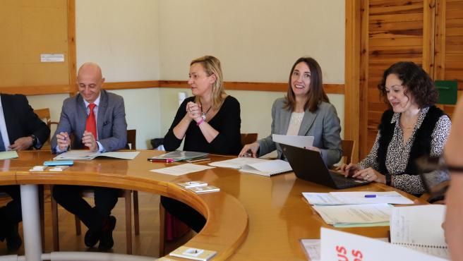 Reunión del Consejo Aragonés del Trabajo Autónomo.