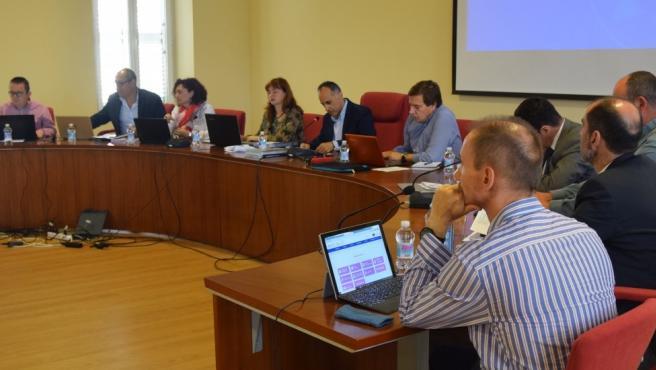Reunión del Consejo de Gobierno de la Universidad Politécnica de Cartagena (UPCT)