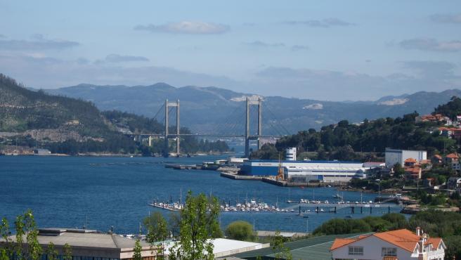 Vista Del Puente De Rande.