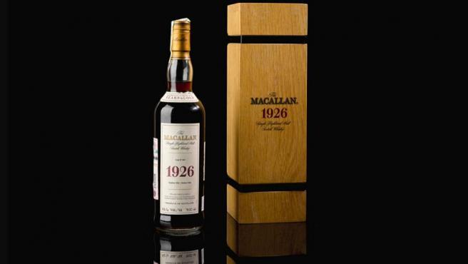 Macallan 1926, la nueva botella de whisky más cara del mundo.