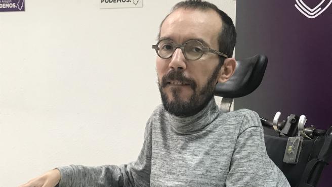 10N.- Echenique (Unidas Podemos) apuesta por 'blindar los derechos de la gente corriente y afrontar los retos de país'