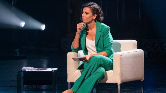 La presentadora del debate, Ana Pastor.