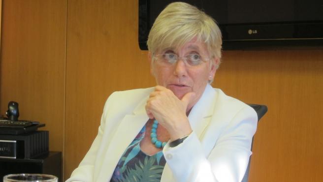 L'exconsellera d'Educació, Clara Ponsatí