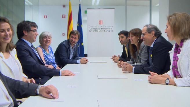 Ponsatí, Comín y Puig se entregarán tras reactivarse las euroórdenes