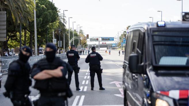 El dispositivo será visible desde la jornada de reflexión y será una operación conjunta entre la Policía Nacional, la Guardia Civil y los Mossos d'Esquadra.