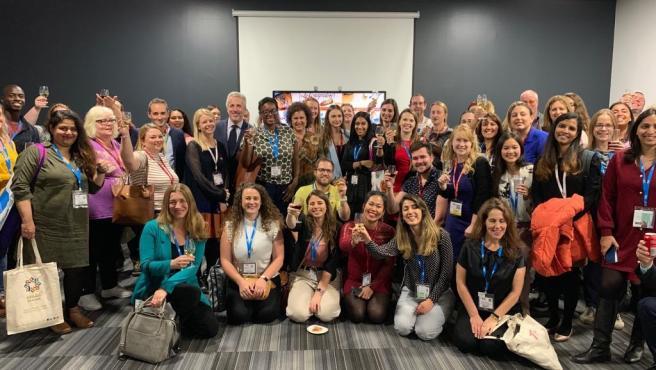 Blogueros e 'instagramers' reunidos en Londres por la Fundación Turismo Palma.