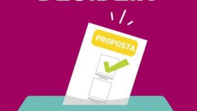 Cartel sobre los presupuestos participativos Ayuntamiento de Marratxí
