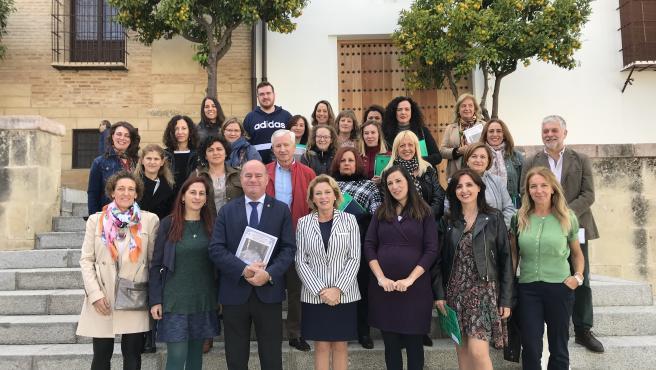 Clausura de una escuela taller en Antequera (Málaga)