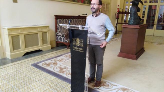 El portavoz de MÉS per Menorca, Josep Castells.