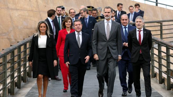 El Rey inaugura el Congreso Internacional 'Igualdad de género en el ámbito de la Seguridad