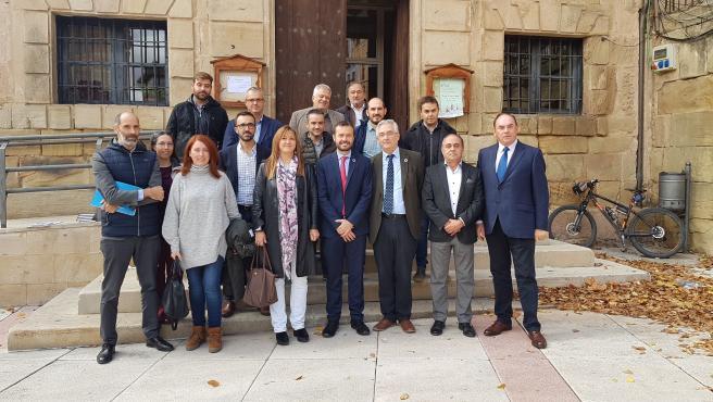 Joaquín Olona y su homólogo de Castilla La Mancha, José Luis Escudero, se reúnen para organizar el Día Internacional de los Bosques 2020