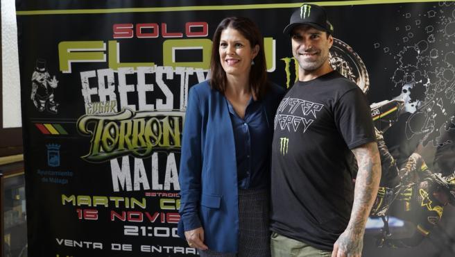 Noelia Losada y Edgar Torronteras