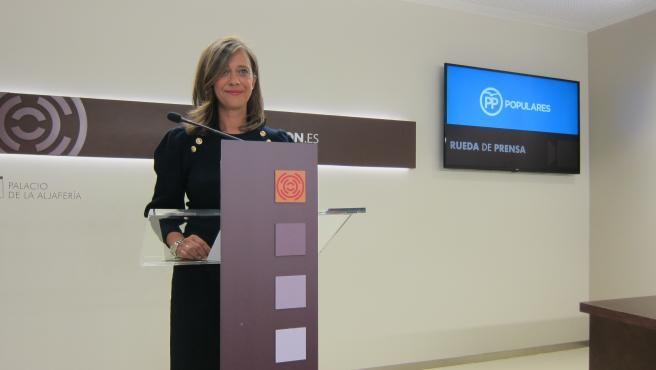 Portavoz Adjunta Y Responsable De Asuntos Sociales Del Partido Popular En Las Cortes De Aragón, Marian Orós.