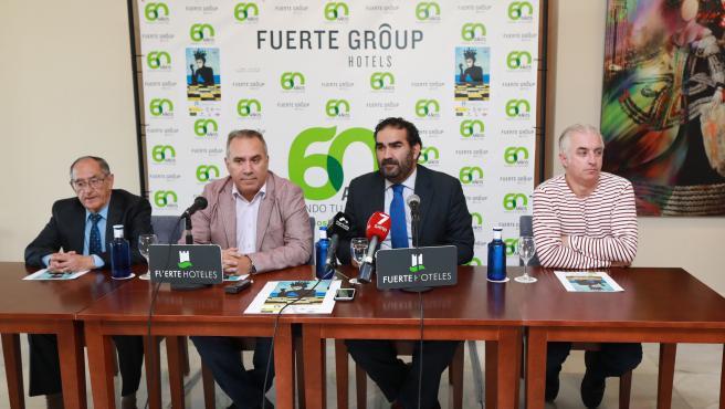 Presentación del campeonato de España de ajedrez individual absoluto