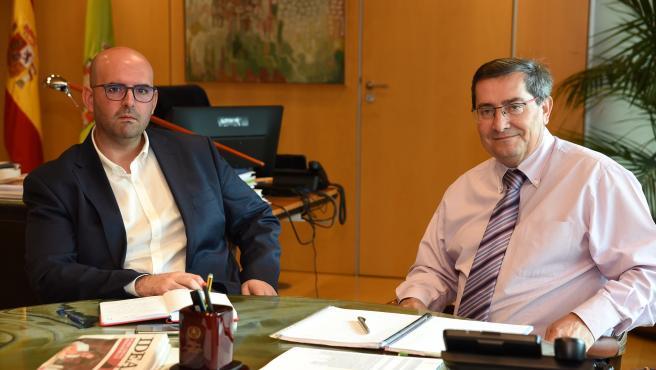 Reunión de la Diputación de Granada y la Mancomunidad de Municipios de la Comarca de Baza