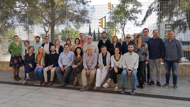 Reunión del Foro Balear del Voluntariado en el Velódromo Illes Balears.
