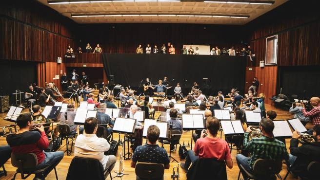 Roda premsa del Festival Deleste amb Second i l'Orquestra de València