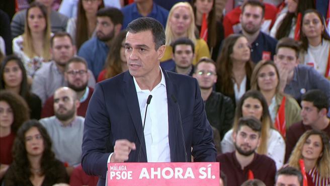 Sánchez acusa a Casado de convertir el PP en subalterno de Vox