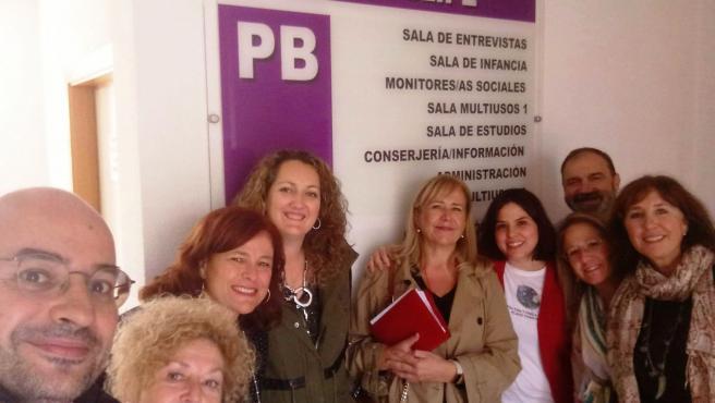 Visita al Centro Municipal de Servicios Sociales de San Felipe.