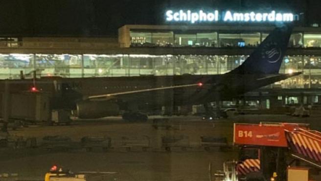 Webcam aeropuerto de Schiphol