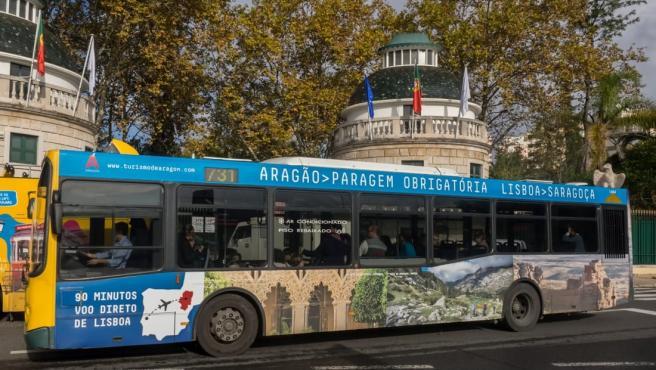Campaña 'Aragón, parada obligatoria' en Portugal