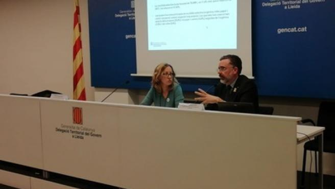 Dolors Tella y Josep Maria Tost.