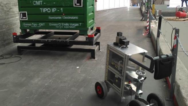 El dispositivo portátil GUALI, que permite mejorar la clasificación de los residuos nucleares