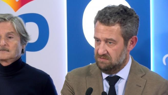 Jaime de Olano, vicesecretario nacional de Participación y portavoz del PP en la Comisión de Presupuestos.