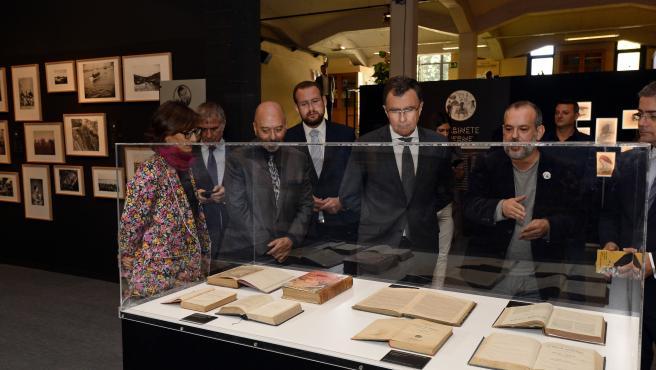 José Ballesta presenta la exposición 'Julio Verne. Los límites de la imaginación'