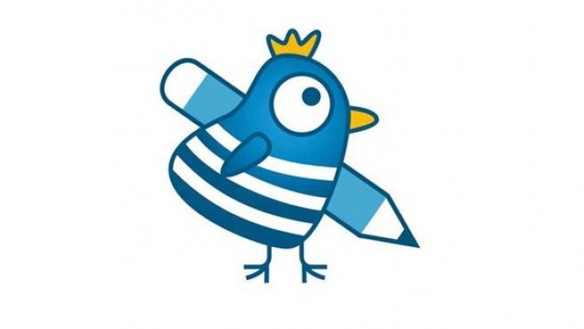 Logotipo de A Galiña Azul, escuela infantil de la Xunta